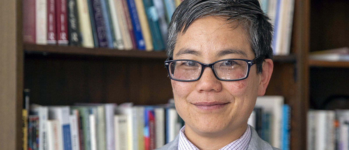 Amy Sueyoshi, PhD., dean of the College of Ethnic Studies