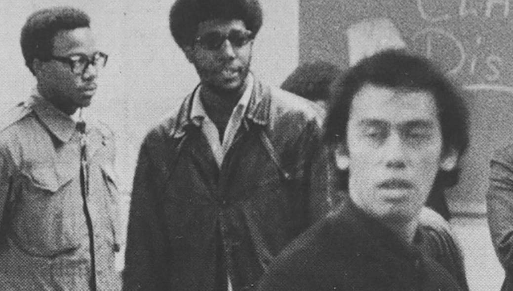 Images from 1968 Black Student movement