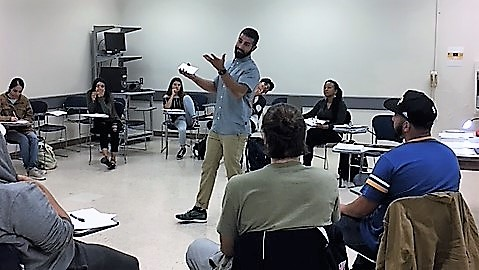College Students in Self-Esteem Workshop, Fall 2017
